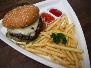 burger sederhana
